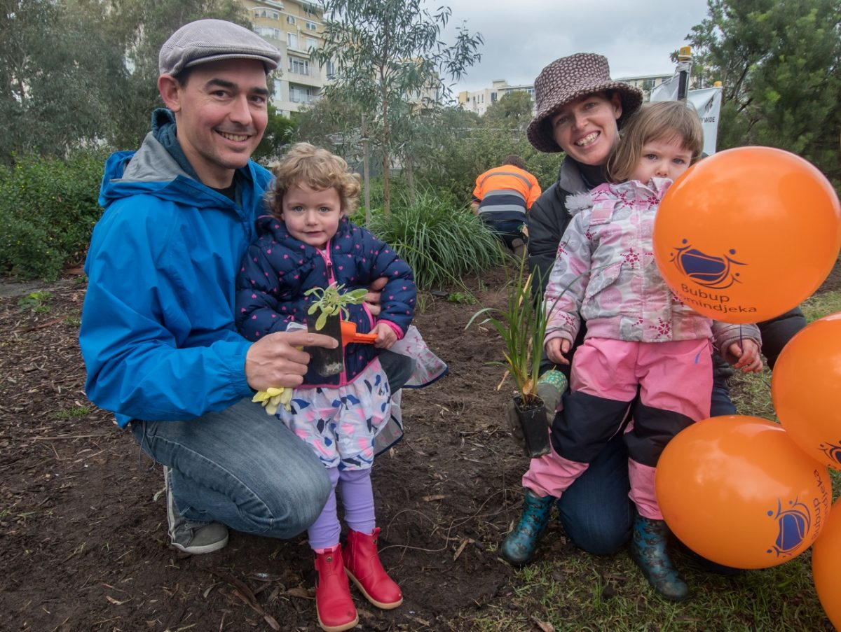 Community connection: Bubup Womindjeka Family and Children's Centre Open Day coincides with community tree planting day. Photo by David Sinclair.