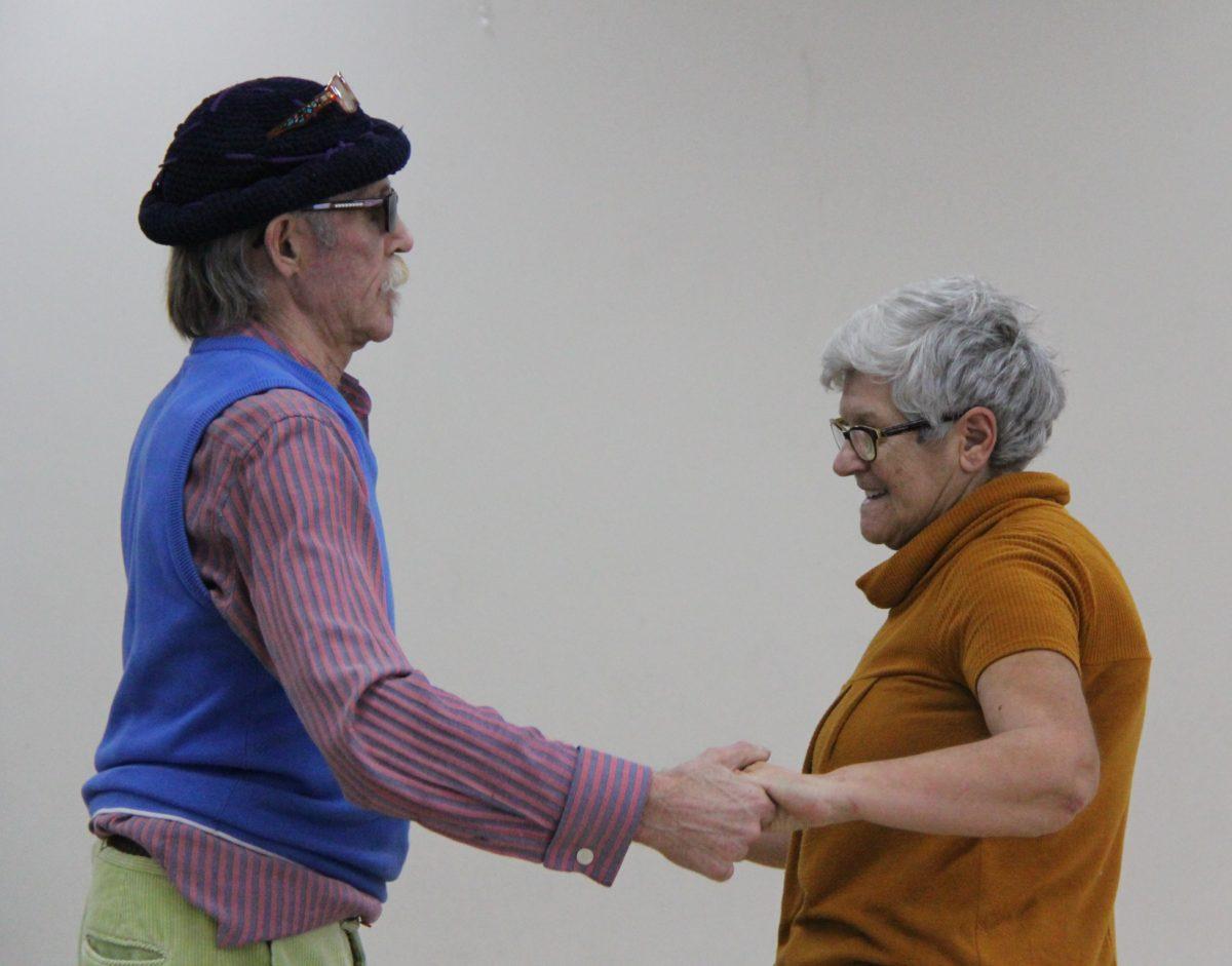 Joy of dance. Image courtesy Kate Kelly. Port Melbourne Neighbourhood Centre