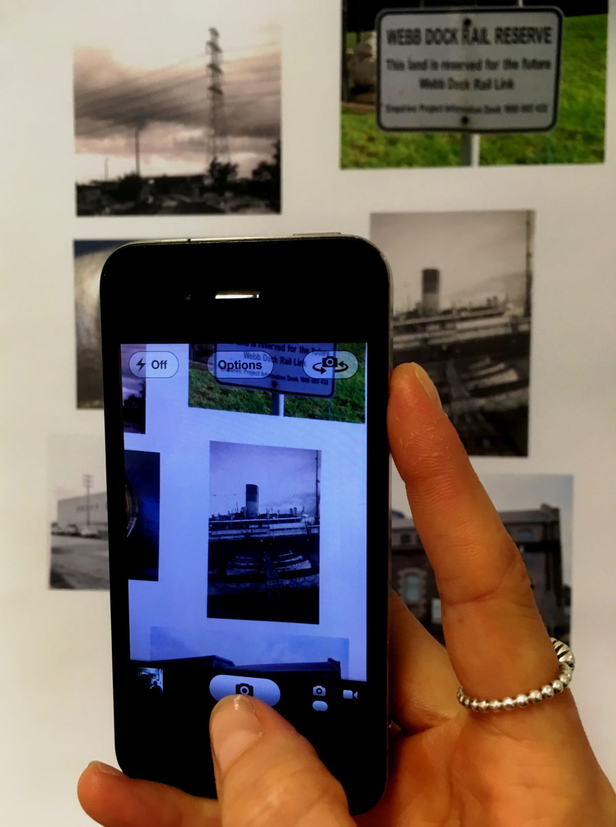 PORTogether multimedia exhibition 20 minute city then and now